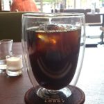 ボダムのグラスで飲むアイスコーヒーは美味しい